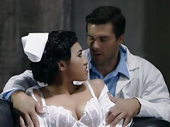 Nurse Jayden Lee is analled by a doctor