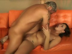 Beautiful Brooke Adams finds the right johnson to sink deep into her snatch
