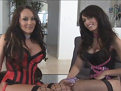 Catalina Cruz and friend are pussy perfect pals