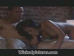 Hot babe Kaylani Lei finds her Mr Right