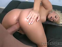 Alexis Monroe gets her juicy moist pussy pummelled
