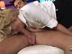 Katie Summers goes cruising for cock.