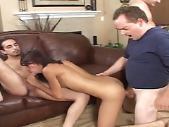 Jerri Lee likes a stiff dick and welcomes the jizz on her face