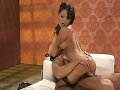 Asa Akira makes all Asian whores proud with her excitable performance