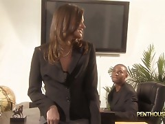 Horny Tori Black can't get enough fucking and sucking black fuckstick