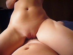 First time porn amateur uses her tight pussy to ride a thick cock