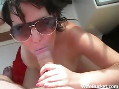 Fucking the wife on the new boat