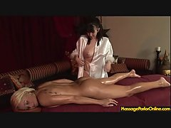Full body lesbo massage