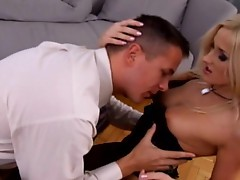 Stretching her ravenous ass lips, Luscious Lis has backdoor fun with a fat cock