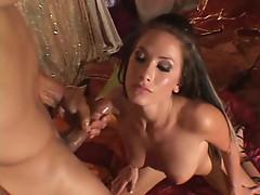 Randy Wright loves to take in as much hard man vine as she can