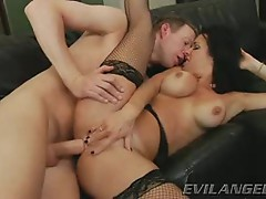 Veronica Avluv gets her hot ass crammed with hard cock