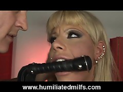 Hot Milf Gets Her Throat Fucked