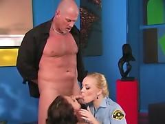 Annette Schwarz and Tory Lane enjoy sharing the same anal ridden penis