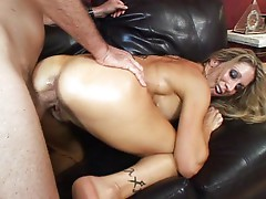Ramming my dick into her
