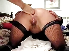 Extreme. Fisting ass of my slut wife