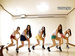 Waveya Korean dance team