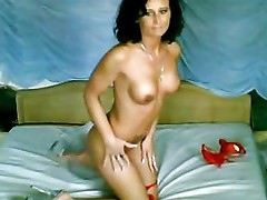 Vicki Vixen amateur striptease