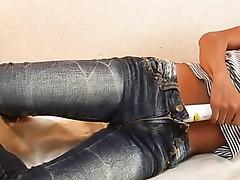 Masturbating In Jeans