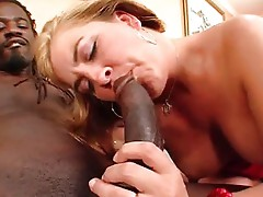 MILF: Blonde Gets BBC in Her Hairy Pussy