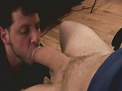 Blowjob on a stud with big dick
