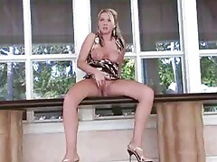 Alison shows her beautiful pussy