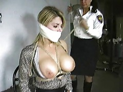 Security woman captures prostitute