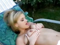 Horny next door babe
