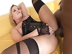 Aurora Snow in stocking loves anal fucking pt2 (TheNylonChannel)