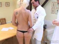 two french doctors abuse a naive russian teen