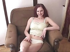 Redhead Russian Amateur Girl Anal Fucked