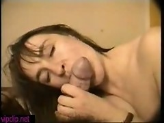 Blowjob and Cum in her mouth