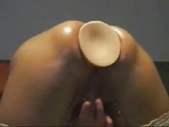 My submissive bitch anal fisted
