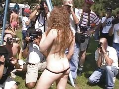 Fun at a Nudist rally 1