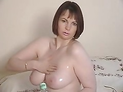 Oiled tits (Cum on them!)