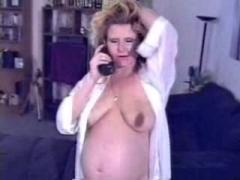 Pregnant Mature Mom Fucked