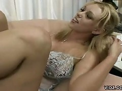 Brittney Skye treated to facial