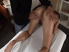 Young Girl Gets One Of A Kinde Erotic Massage