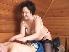 drunk russian mother seduces the youth.