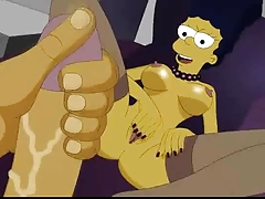 The Simpsons homemade porn + Foursome orgy from Scooby Doo