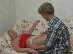 blonde russian mature fucked 2