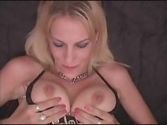 Biker chick sucking and licking balls by 4FThem.com