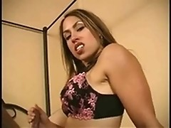 Mistress Aie is making it hot & heavy with guy