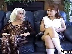 Nasty dykes Wendy and Dyn-a-mite gone wild