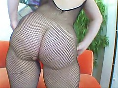 Mature in bodystocking