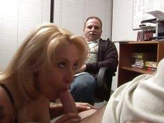 Nasty Rebecca Steel loves teasing a stiff fuck stick