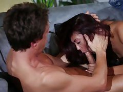 Sassy Kaylani Lei gets her moist mouth hammered