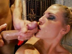 Tempting Charisma Capelli gets drenched in hot cum