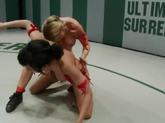 Babes Charisma Capelli & Isis Love have a rough fight