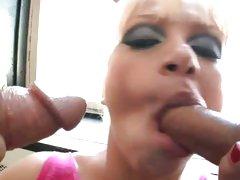 Lea Lexus suck and blow cocks really hard