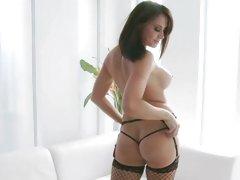 Prick teaser Chanel Preston shows off her sexy bod